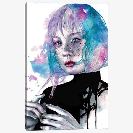 Broken Dreams And Broken Hearts Canvas Print #VIO7} by Victoria Olt Art Print
