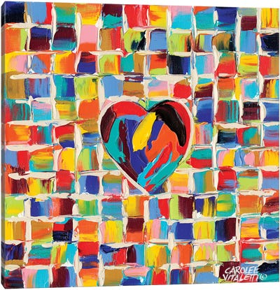 Love Of Color II Canvas Art Print