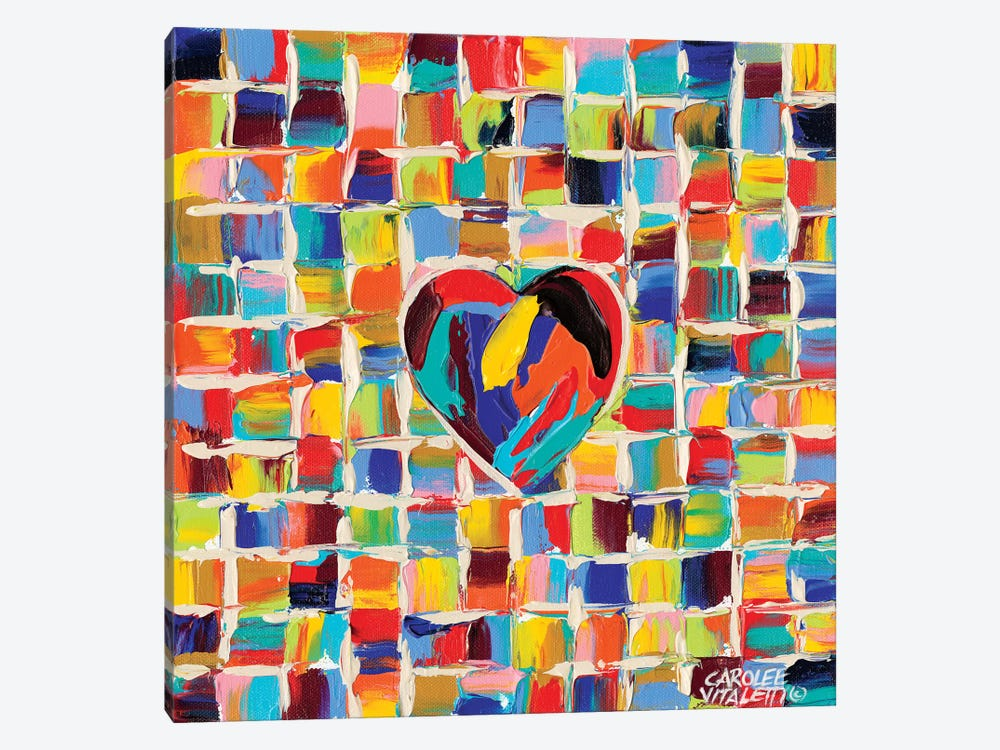 Love Of Color II by Carolee Vitaletti 1-piece Canvas Art Print