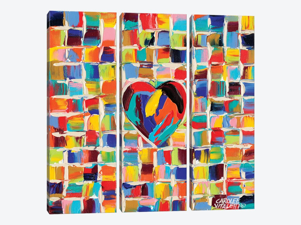 Love Of Color II by Carolee Vitaletti 3-piece Art Print