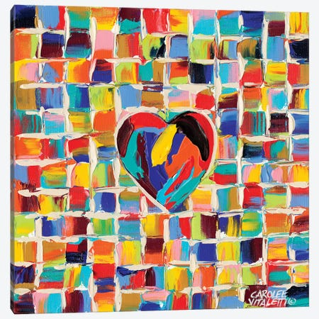 Love Of Color II Canvas Print #VIT10} by Carolee Vitaletti Canvas Artwork