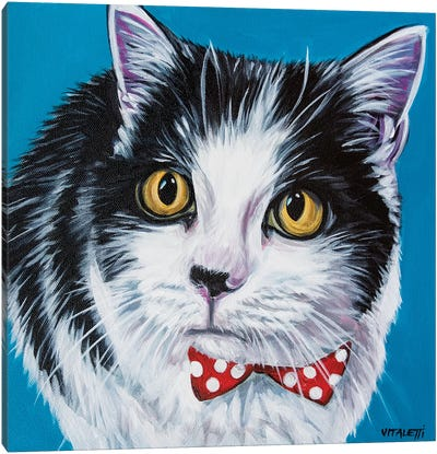 Classy Cat I by Carolee Vitaletti Canvas Art Print