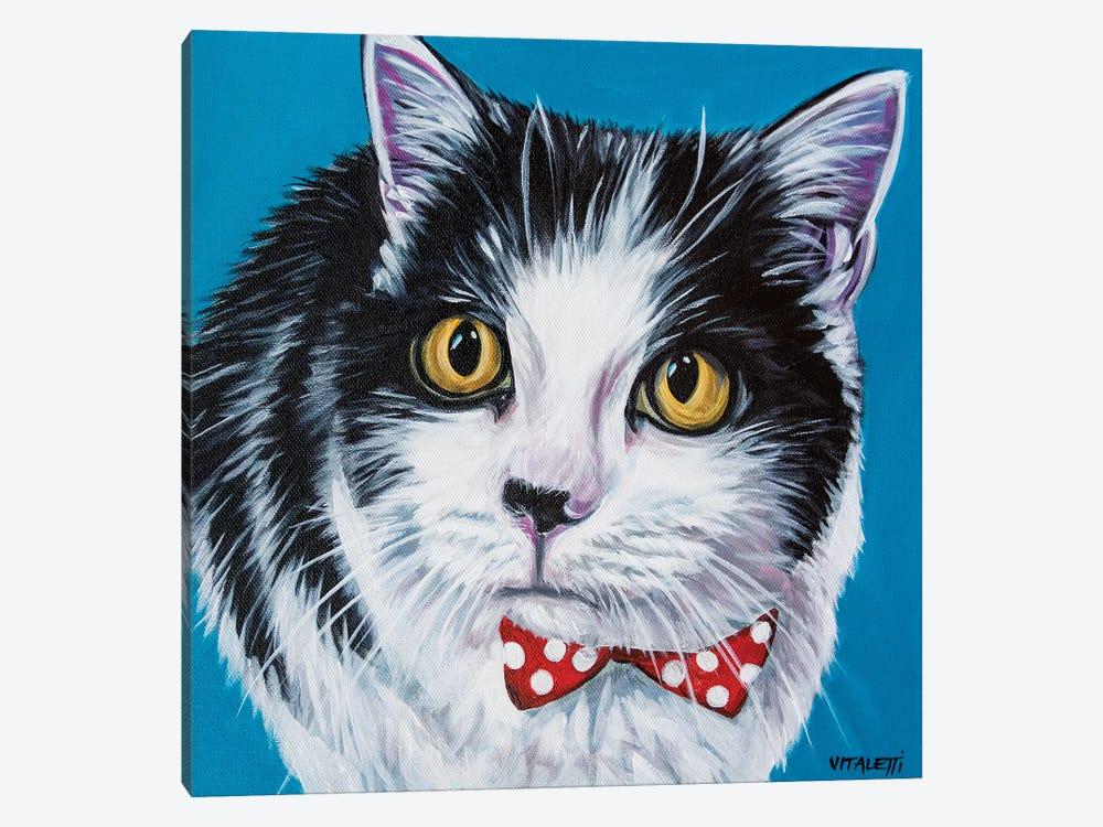 Classy Cat I by Carolee Vitaletti 1-piece Canvas Wall Art
