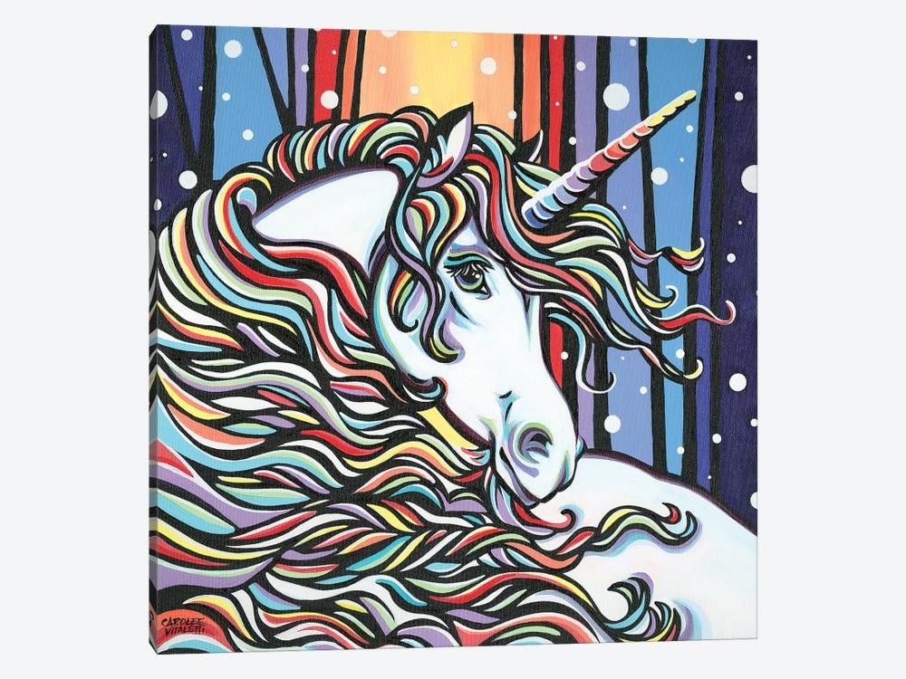 Magical Unicorn I by Carolee Vitaletti 1-piece Canvas Art