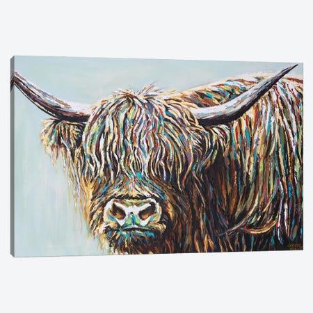 Woolly Highland I Canvas Print #VIT130} by Carolee Vitaletti Canvas Art