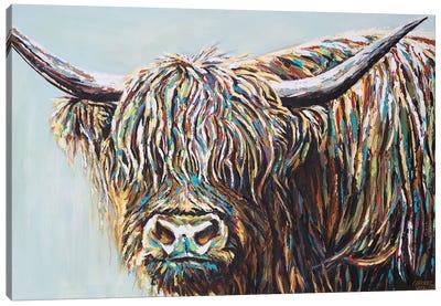 Woolly Highland I Canvas Art Print