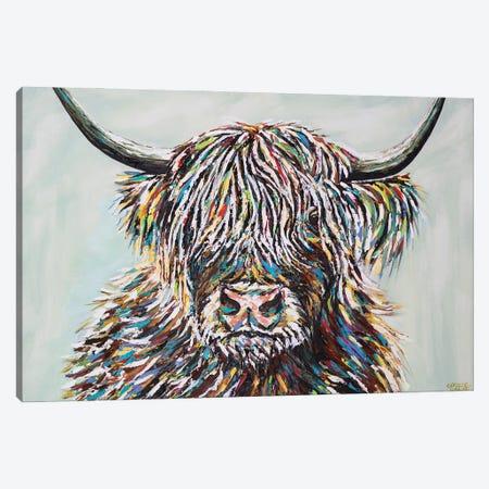 Woolly Highland II Canvas Print #VIT131} by Carolee Vitaletti Canvas Wall Art