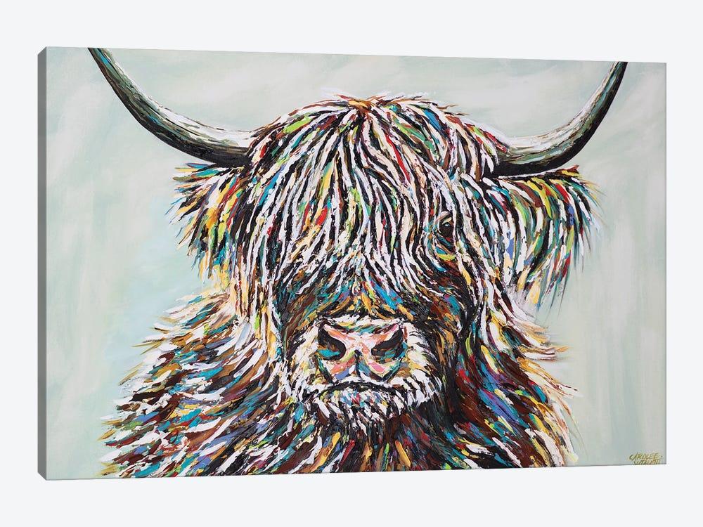 Woolly Highland II by Carolee Vitaletti 1-piece Canvas Art