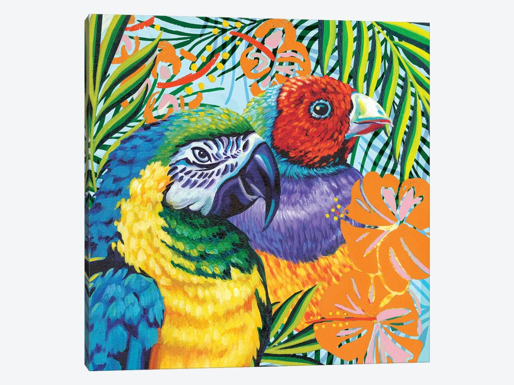 Luau II by Carolee Vitaletti 1-piece Canvas Art