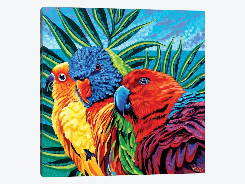 Birds In Paradise I by Carolee Vitaletti 1-piece Canvas Wall Art