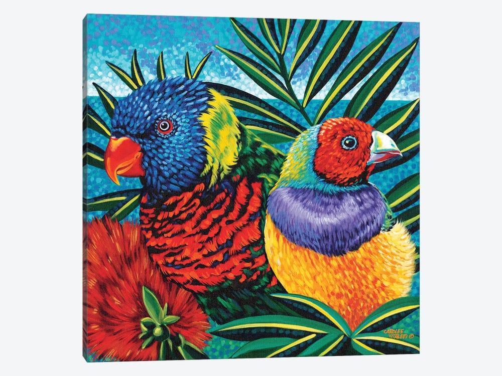 Birds In Paradise II by Carolee Vitaletti 1-piece Canvas Art Print