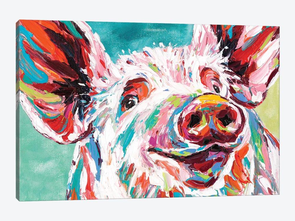 Piggy I by Carolee Vitaletti 1-piece Canvas Art Print