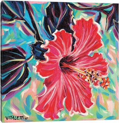 Hawaiian Beauty I Canvas Art Print