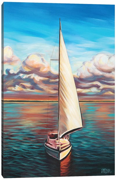 Sunset Cruise II Canvas Art Print