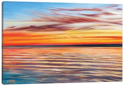 Tranquil Sky I by Carolee Vitaletti Canvas Art Print