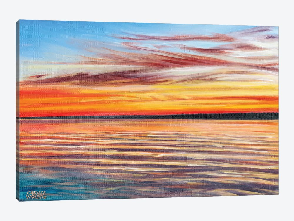 Tranquil Sky I by Carolee Vitaletti 1-piece Canvas Artwork