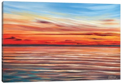 Tranquil Sky II by Carolee Vitaletti Canvas Art Print
