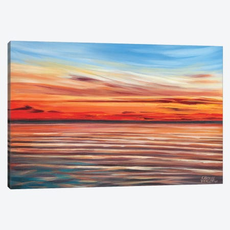 Tranquil Sky II 3-Piece Canvas #VIT38} by Carolee Vitaletti Canvas Art