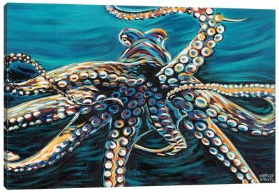 Wild Octopus II Canvas Art Print