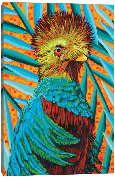Bird In The Tropics I Canvas Art Print