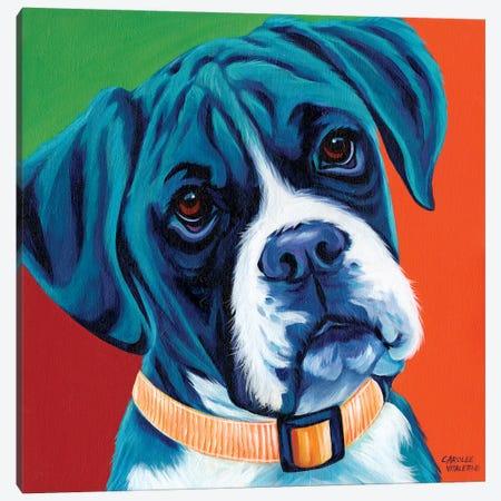 Cute Pups I Canvas Print #VIT43} by Carolee Vitaletti Canvas Print