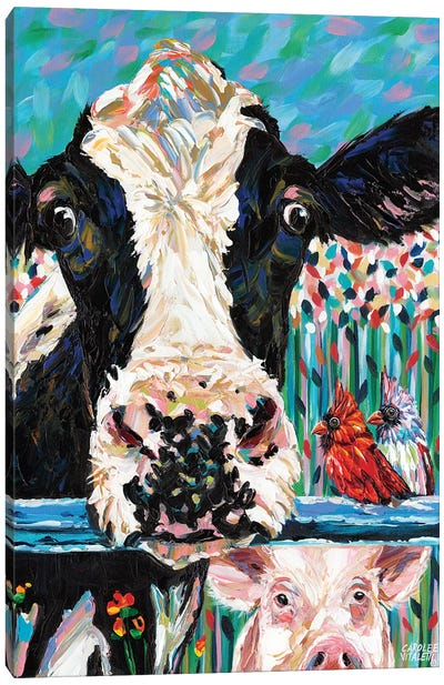 Farm Buddies II by Carolee Vitaletti Canvas Art Print
