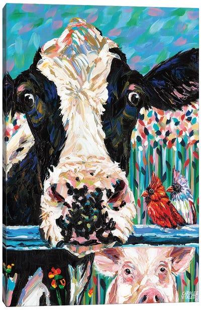 Farm Buddies II Canvas Art Print
