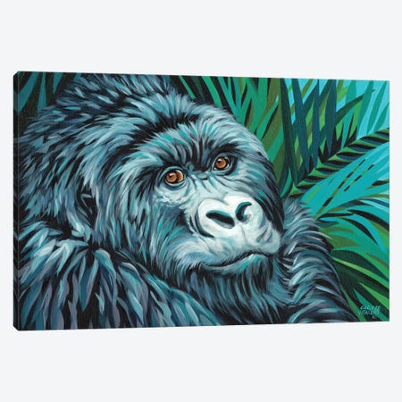 Jungle Monkey II Canvas Print #VIT48} by Carolee Vitaletti Canvas Print
