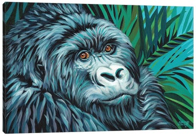 Jungle Monkey II Canvas Art Print