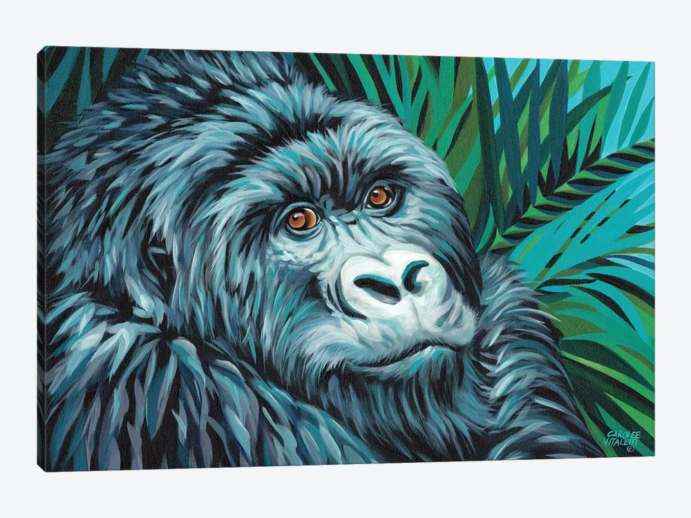 Jungle Monkey II by Carolee Vitaletti 1-piece Canvas Art