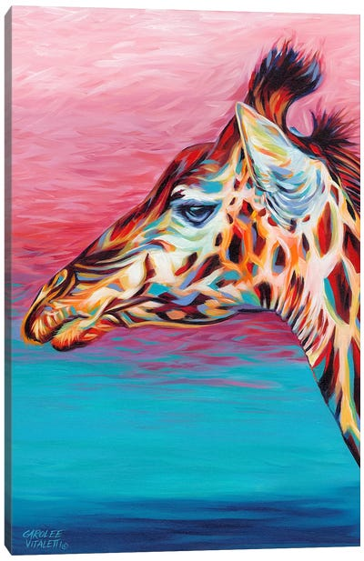Sky High Giraffe II Canvas Art Print