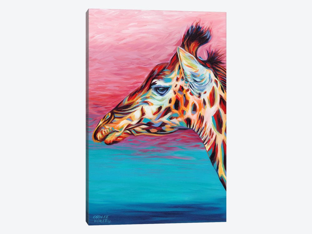 Sky High Giraffe II by Carolee Vitaletti 1-piece Canvas Artwork