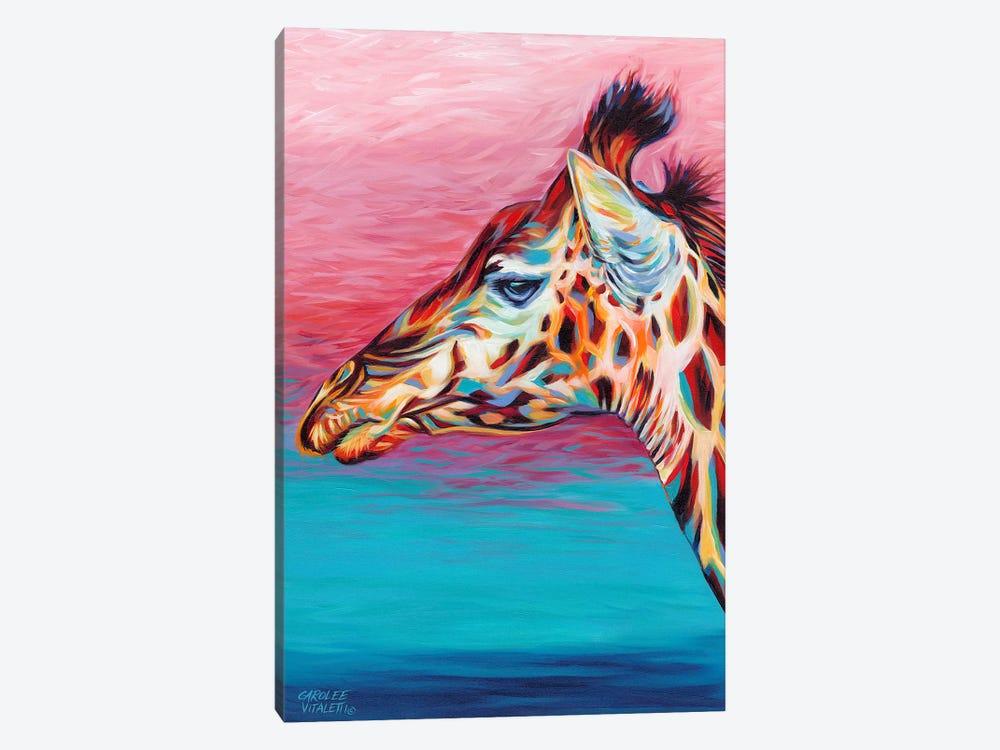 Sky High Giraffe II by Carolee Vitaletti 1-piece Canvas Artwork