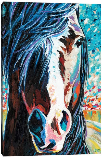Wild At Heart I by Carolee Vitaletti Canvas Art Print