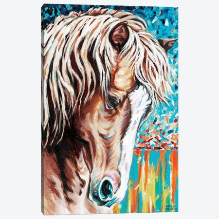 Wild At Heart II Canvas Print #VIT53} by Carolee Vitaletti Canvas Artwork