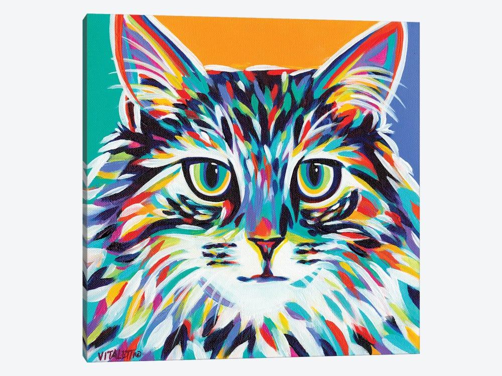 Dramatic Cats I by Carolee Vitaletti 1-piece Canvas Artwork