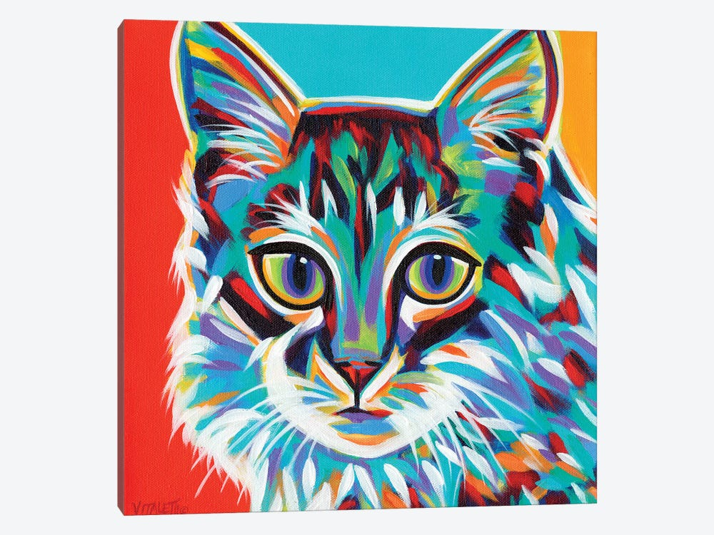 Dramatic Cats II by Carolee Vitaletti 1-piece Canvas Print