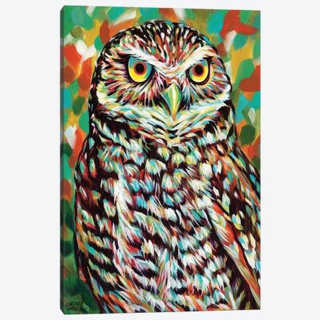 Fury Feather Friends II Canvas Print #VIT63} by Carolee Vitaletti Canvas Print