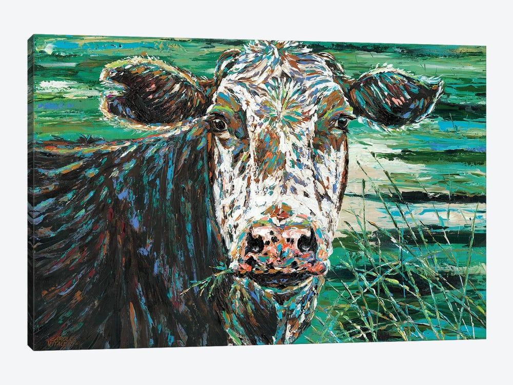 Marshland Cow II by Carolee Vitaletti 1-piece Canvas Print