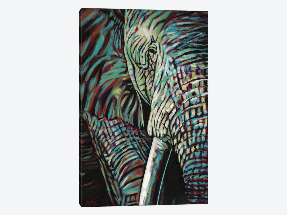 Powerful Wildlife I by Carolee Vitaletti 1-piece Canvas Art