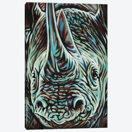 Powerful Wildlife II Canvas Print #VIT67} by Carolee Vitaletti Canvas Wall Art