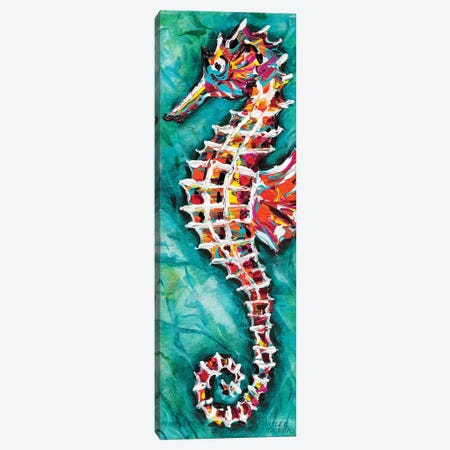 Radiant Seahorse II Canvas Print #VIT69} by Carolee Vitaletti Canvas Art Print