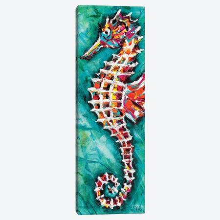 Radiant Seahorse II Canvas Print #VIT69} by Carolee Vitaletti Canvas Art Print