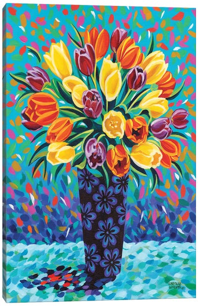 Bouquet Celebration II Canvas Art Print
