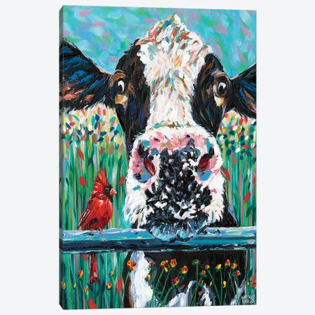 Farm Buddies I Canvas Print #VIT79} by Carolee Vitaletti Canvas Art