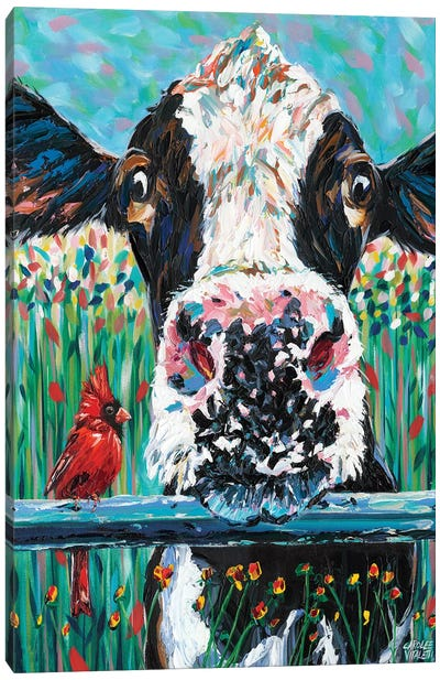 Farm Buddies I by Carolee Vitaletti Canvas Art Print