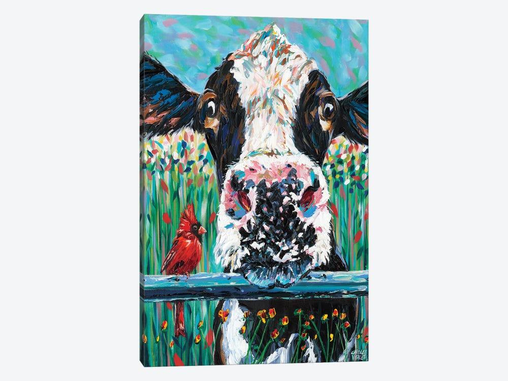 Farm Buddies I by Carolee Vitaletti 1-piece Canvas Wall Art