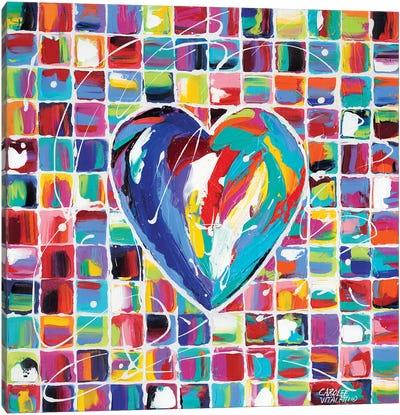 Hearts Of A Different Color I Canvas Art Print