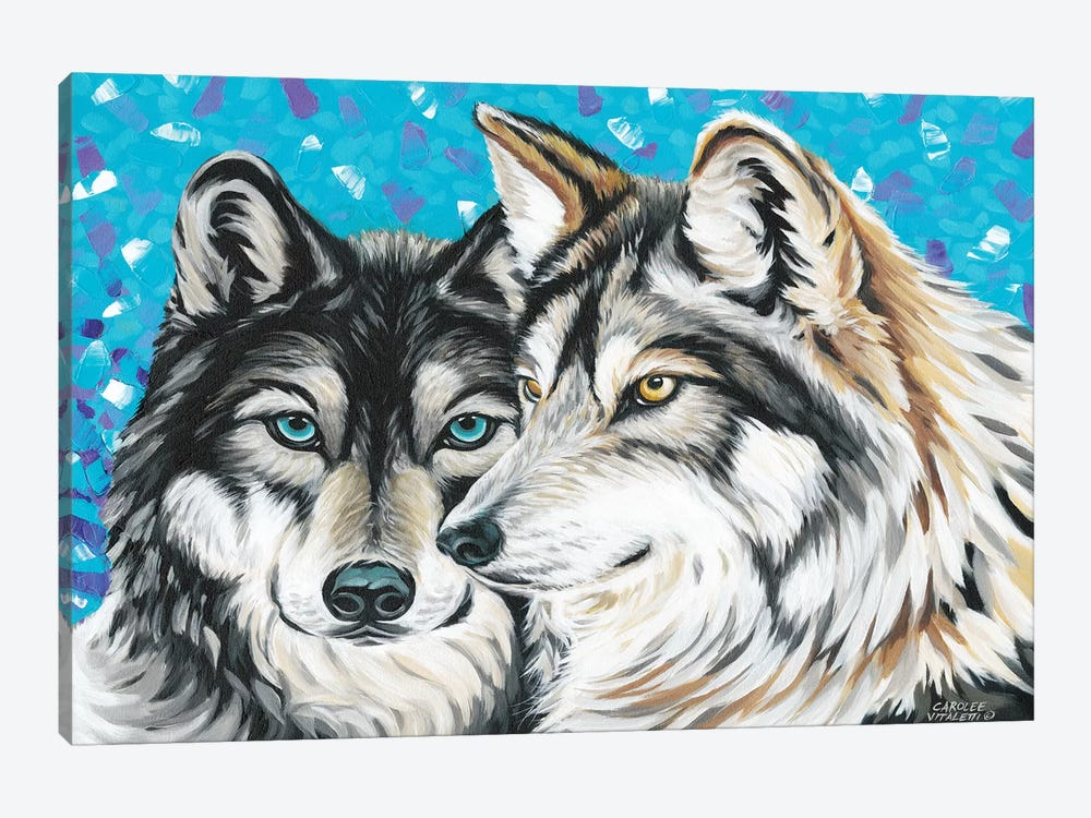 Grey Wolf I by Carolee Vitaletti 1-piece Art Print