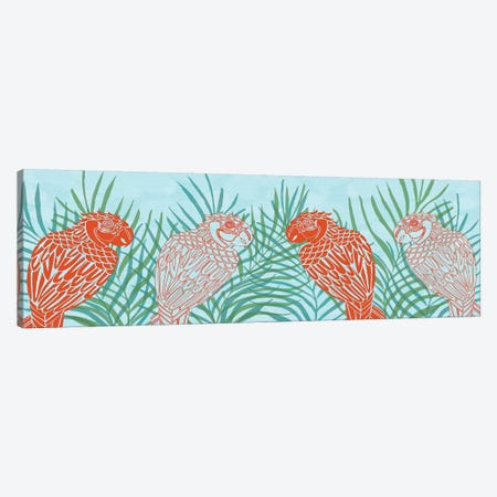 Luau Collection H 3-Piece Canvas #VIT83} by Carolee Vitaletti Canvas Art Print